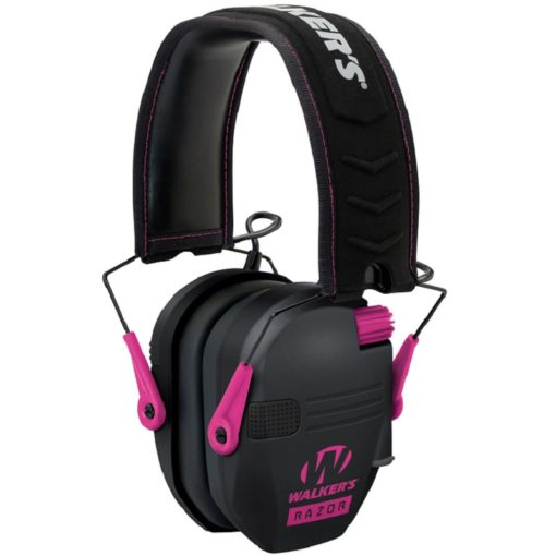 RTL Firearms walkers razor hearing protection pink