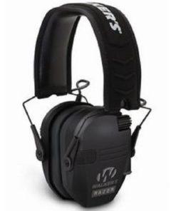 RTL Firearms walkers razor hearing protection black