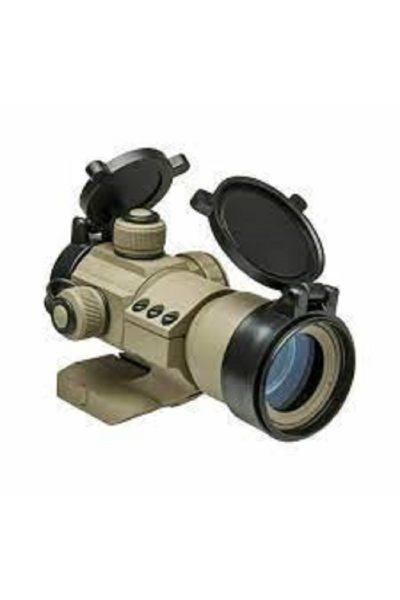 RTL Firearms NcStar 35mm Red/Green/Blue Dot Optic - Tan Scope