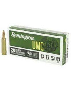 RTL Firearms Ammunition Remington UMC 22-250 JHP 50 Gr.