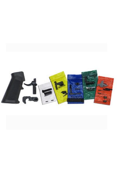 RTL Firearms CMMG Lower Parts Kit AR-15 Mil-Spec Black