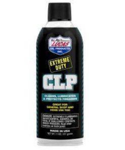 RTL Firearms gun oil lucas extreme duty CLP 11 oz