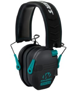 RTL Firearms walkers razor hearing protection teal