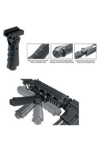 RTL Firearms Leapers Ergonomic Ambidextrous 5-position Foldable Foregrip
