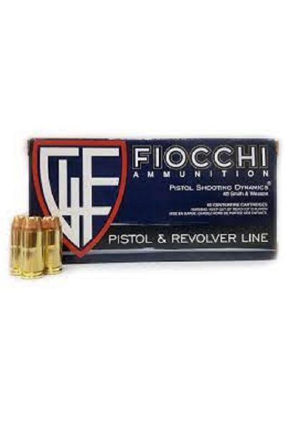 RTL Firearms ammunition Fiocchi 40 S&W JHP