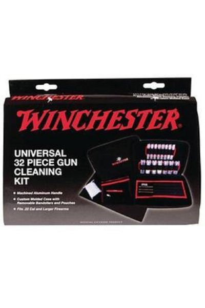 RTL Firearms Winchester Universal Cleaning Kit - 32 Pieces Soft Sided Case