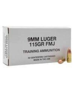RTL Firearms training ammunition Federal Training Ammunition 9mm 115 gr