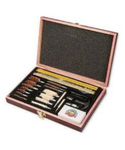 RTL Firearms Gunmaster 35 Piece Universal Gun Cleaning Kit Wood Case
